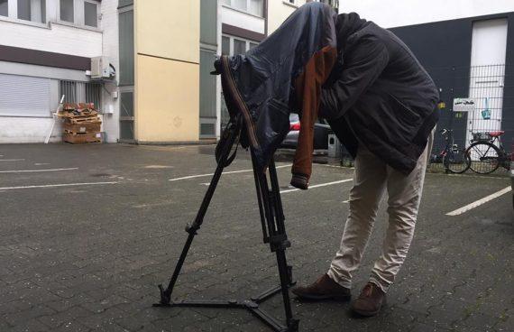 Schatten der Erde Dreh: Kameramann