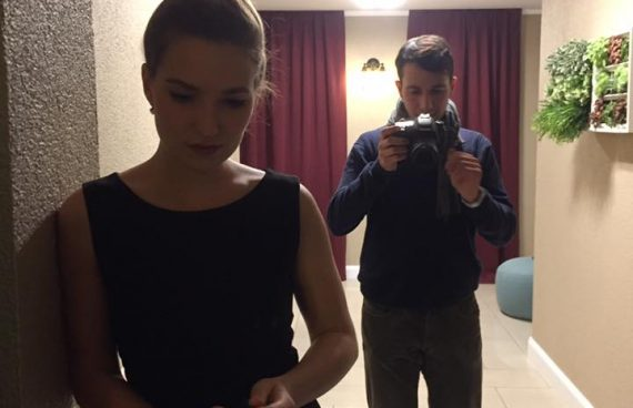 """Kritik"" Dreh: Josephine und Jacob"