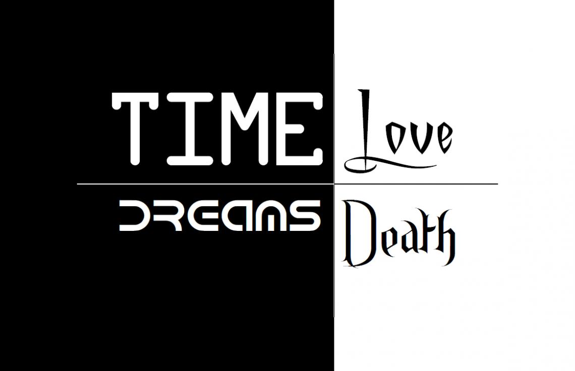 Time, Dreams, Love, Death Logo