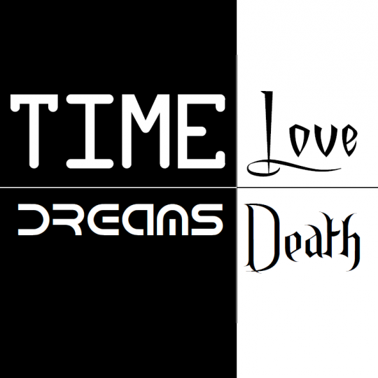 Time, Dreams, Love, Death Logo