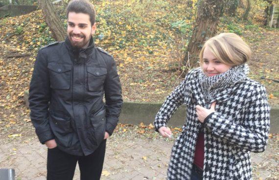 Pechmarie Dreh: Helena und Baran