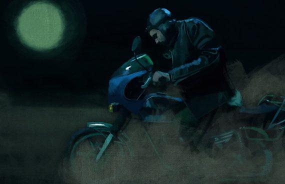 Saloon Nothingness : Das Motorrad
